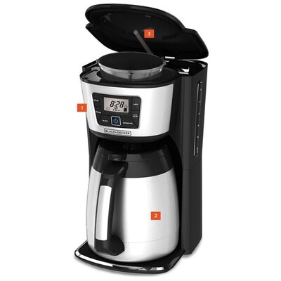 12 Cup Programmable Thermal Coffee Maker CM2035B