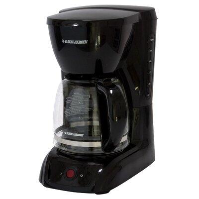Black & Decker CM1200W White 12-cup Switch Coffeemaker 15583282