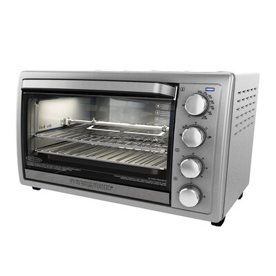 9-Slice Stainless Steel Rotisserie Oven TO4314SSD