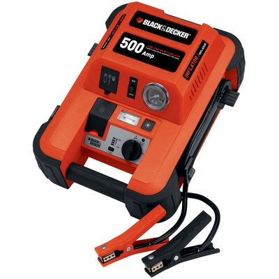 Black & Decker 500 Amp Jump Starter with Compressor at Sears.com