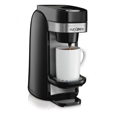 Hamilton Beach 49997 Single Serve Coffee Maker, Flexbrew 49997R