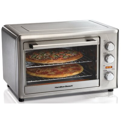Hamilton Beach Countertop Oven with Convection and Rotisserie 31103