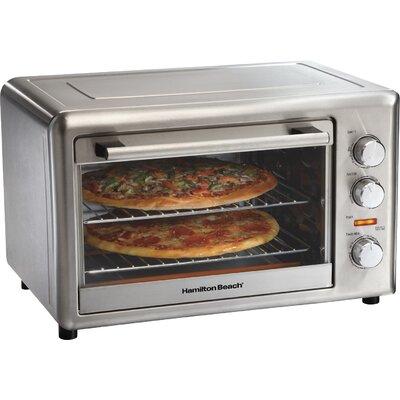 Hamilton Beach 31103A Electric Oven - Countertop - Metallic 293373699