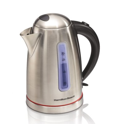 1.8-qt. Stainless Steel Electric Tea Kettle 40988