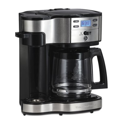 Hamilton Beach The Scoop Two Way 12-Cup Brewer Coffee Maker 49980Z