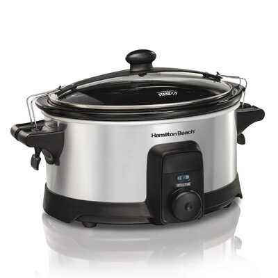 6 Qt. Stay or Go IntelliTime Slow Cooker 33367