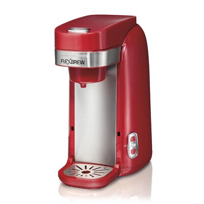 FlexBrew Single-Serve Coffeemaker Color: Red 49960