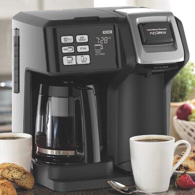 Hamilton Beach 12-Cup FlexBrew� 2-Way Coffee Maker 49976
