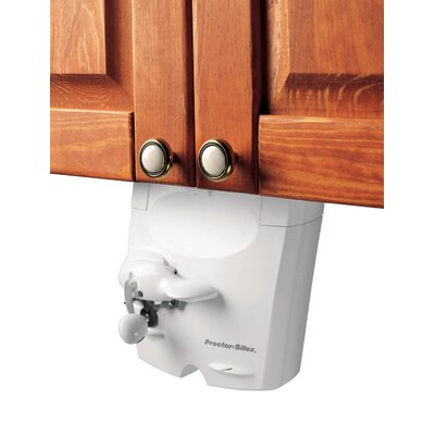 Proctor Silex Power Opener Under The Cabinet Can Opener