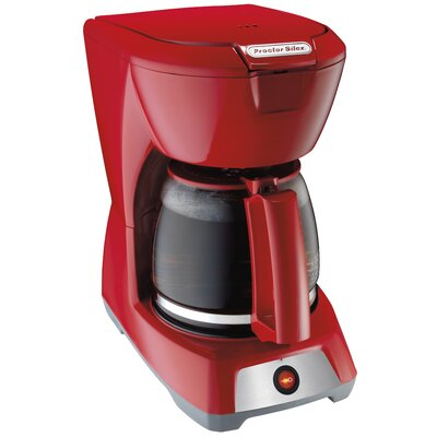 12 Cup Coffee Maker Color: Red 43603