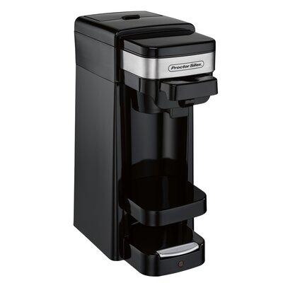Proctor Silex Single Serve Coffee Maker Color: Black 49969