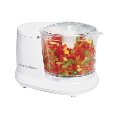 1.5 Cup Mini Food Chopper Color: White 72500RY