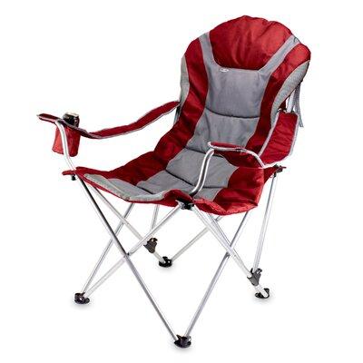 Picnic Time MLB Reclining Camp Chair - MLB Team: Atlanta Braves, Color: Red
