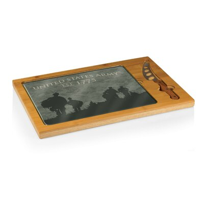 Army Icon Soldier Silhouettes Cutting Board 910-00-505-004-8