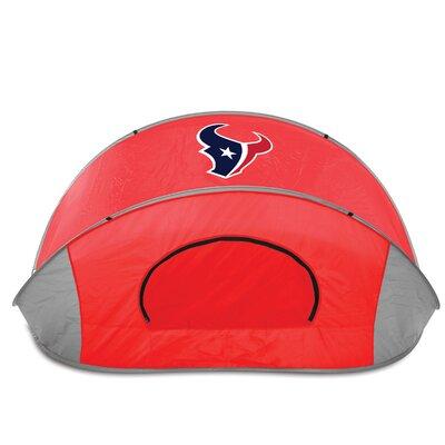 NFL Manta Shelter Color: Red, NFL Team: Houston Texans