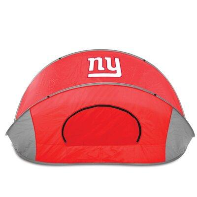 NFL Manta Shelter Color: Red, NFL Team: New York Giants