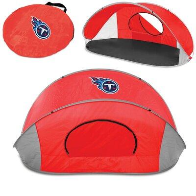 NFL Manta Shelter Color: Red, NFL Team: Tennessee Titans
