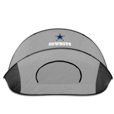 NFL Manta Shelter Color: Black / Grey, NFL Team: Dallas Cowboys