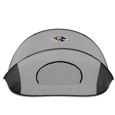 NFL Manta Shelter Color: Black / Grey, NFL Team: Baltimore Ravens