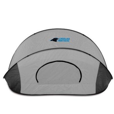 NFL Manta Shelter Color: Black / Grey, NFL Team: Carolina Panthers
