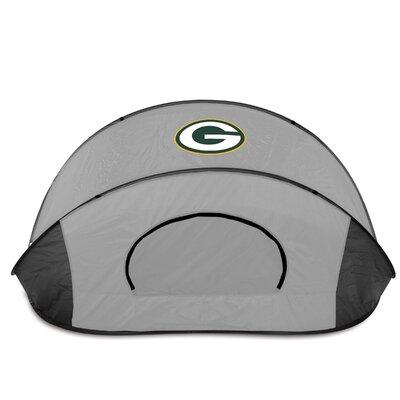 NFL Manta Shelter Color: Black / Grey, NFL Team: Green Bay Packers