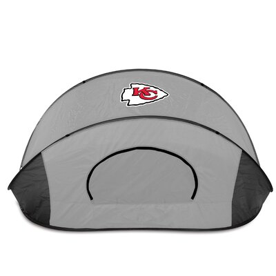 NFL Manta Shelter Color: Black / Grey, NFL Team: Kansas City Chiefs