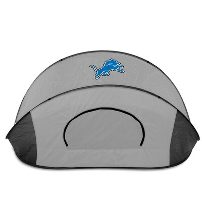 NFL Manta Shelter Color: Black / Grey, NFL Team: Detroit Lions