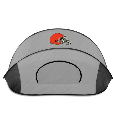 NFL Manta Shelter Color: Black / Grey, NFL Team: Cleveland Browns