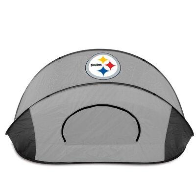 NFL Manta Shelter Color: Black / Grey, NFL Team: Pittsburgh Steelers