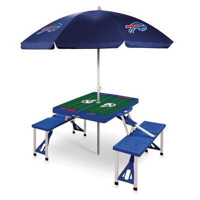 Picnic Table NFL Team: Buffalo Bills/Blue