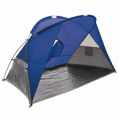 Cove Portable Sun / Wind Shelter Color: Blue/Gray/Silver