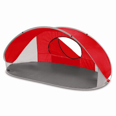 Manta Sun Shelter Color: Red/Gray/Silver