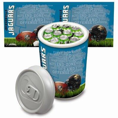 20 Qt. NFL Mega Cooler NFL Team: Jacksonville Jaguars 686-00-000-154-2