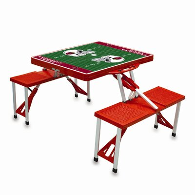 Picnic Time NFL Picnic Table Sport - Color: Black, NFL Team: Arizona Cardinals at Sears.com