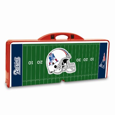 Picnic Time NFL Picnic Table Sport - Color: Red, NFL Team: New England Patriots at Sears.com