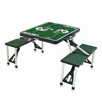 NFL Picnic Table Sport Finish: Hunter, NFL Team: New York Jets