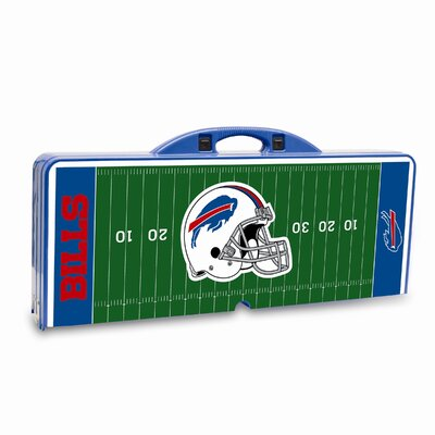 Picnic Time NFL Picnic Table Sport - Color: Blue, NFL Team: Buffalo Bills at Sears.com