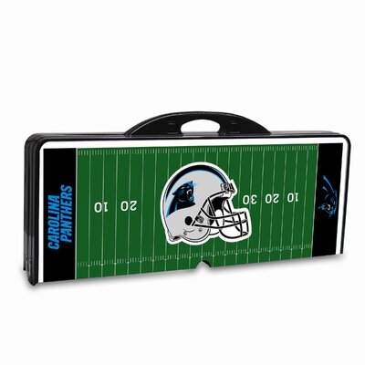 Picnic Time NFL Picnic Table Sport - Color: Black, NFL Team: Carolina Panthers at Sears.com