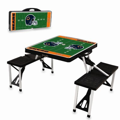Picnic Time NFL Picnic Table Sport - Color: Black, NFL Team: Chicago Bears at Sears.com
