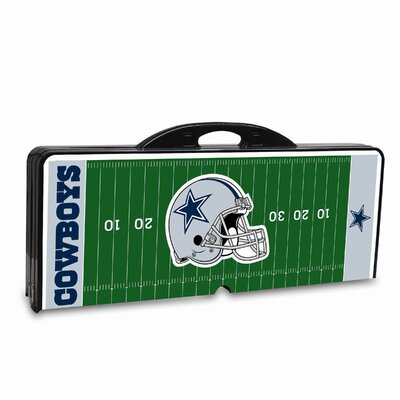 Picnic Time NFL Picnic Table Sport - Color: Black, NFL Team: Dallas Cowboys at Sears.com