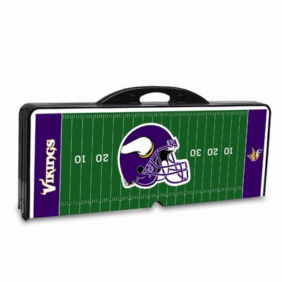 Picnic Time NFL Picnic Table Sport - Color: Black, NFL Team: Minnesota Vikings at Sears.com