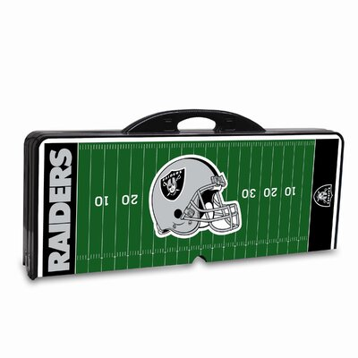 Picnic Time NFL Picnic Table Sport - Color: Black, NFL Team: Oakland Raiders at Sears.com