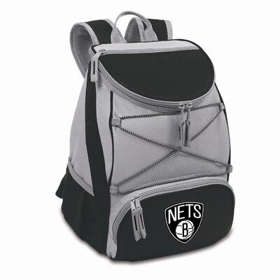 23 Can NBA Backpack Cooler Color: Black, NBA Team: Brooklyn Nets