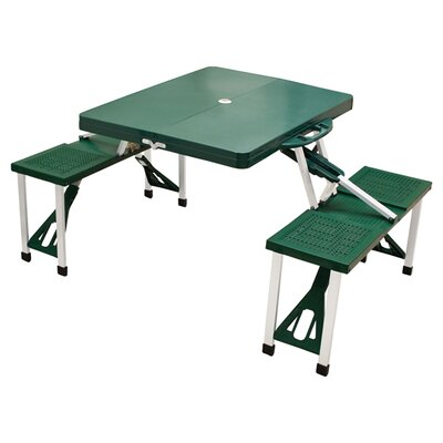 Outdoor Furniture Picnic Table Finish: Hunter Green