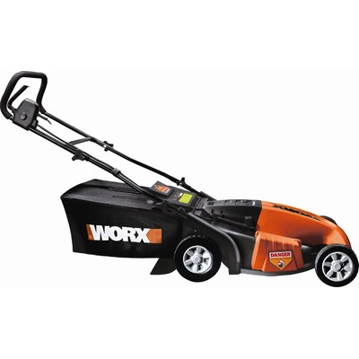 "Worx 19"" 3-in-1 Electric Lawn Mower at Sears.com"