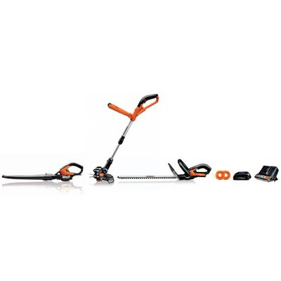 Worx 3 Pieces 18V Lithium-ion Cordless Combo Kit at Sears.com