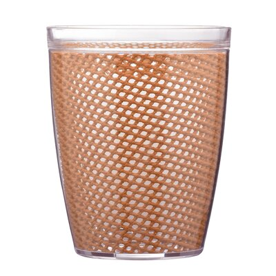 Fishnet Double Wall Insulated Tumbler II Color: Bronze