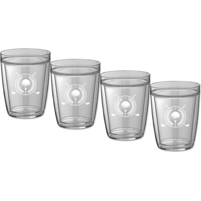Kasualware Designs Golf 14 Oz. Doublewall Short Glass 89014
