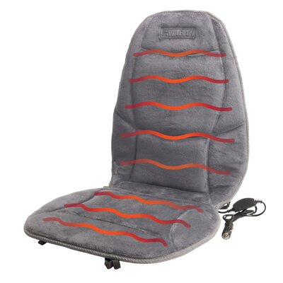 Velour Heated Cushion