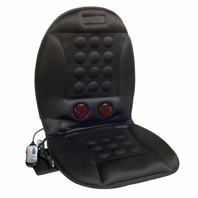 12v Infra-heat Massage Magnetic Cushion With Ac Adapter